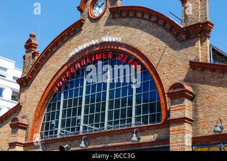 Bockenheimer Depot, a theatre in Frankfurt, Germany. May 2017. - Stock Image
