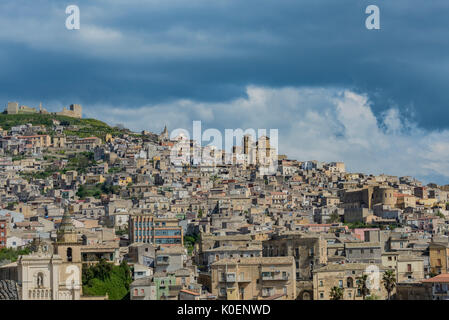 Southern Italy, Sicily, Agria, an island - Stock Image
