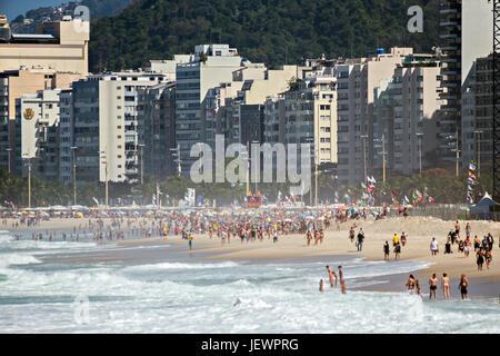Praia do Copacabana - Stock Image