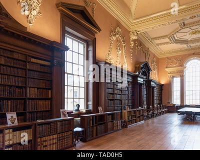 Christ Church Library, Oxford University, UK - Stock Image