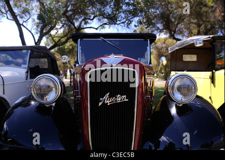 Vintage Austin motor car - Stock Image