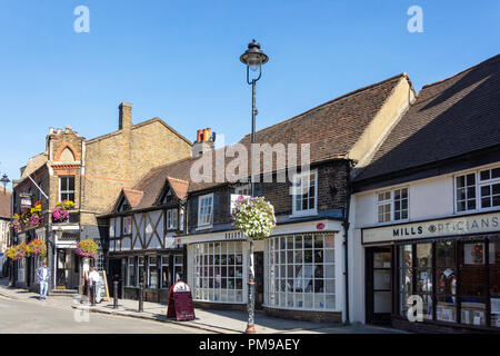 Period buildings, Windsor Street, Uxbridge, London Borough of Hillington, Greater London, England, United Kingdom - Stock Image
