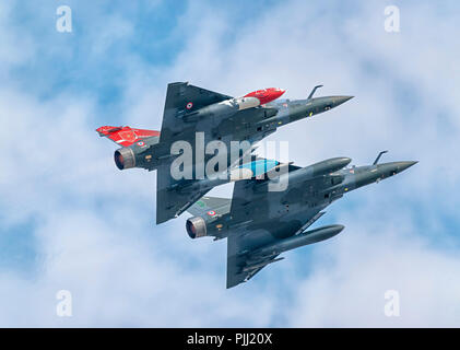Dassault Mirage 2000D, French Air Force, RIAT, RAF Fairford 2018 - Stock Image