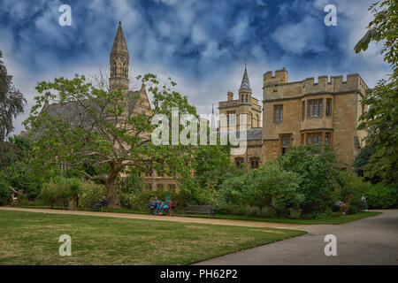 balliol college oxford - Stock Image