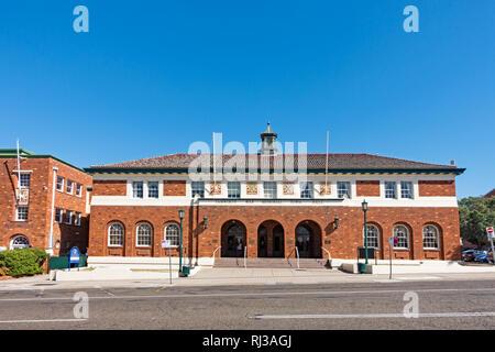 War Memorial Town Hall, Tamworth NSW Australia. - Stock Image