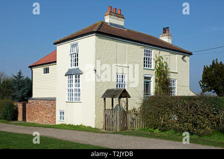 The Lock House, Canal Head, Pocklington Canal, East Yorkshire, England UK - Stock Image