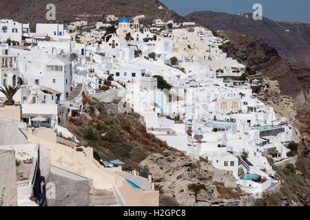 Santorini Greece - Stock Image