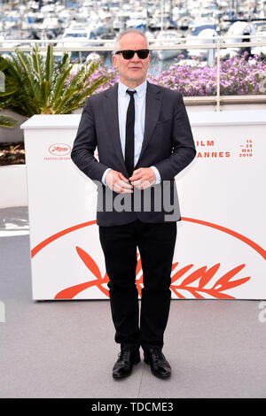 72nd Cannes Film Festival 2019, Photocall Master of ceremony Pictured: Thierry Fremaux  Where: Cannes, France When: 14 May 2019 Credit: IPA/WENN.com  **Only available for publication in UK, USA, Germany, Austria, Switzerland** - Stock Image
