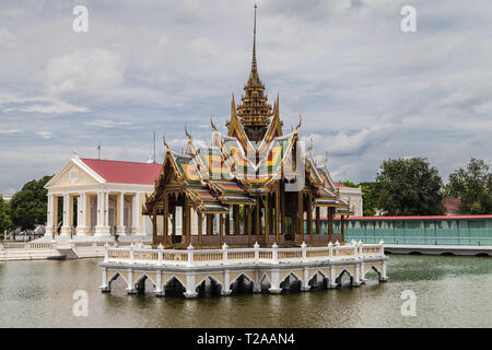 Bang Pa-In Palace, Ayutthaya, Thailand. - Stock Image
