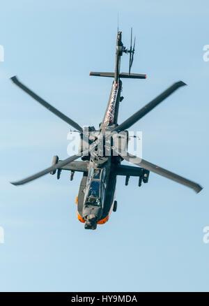 Royal Netherlands Air Force Ah-64 Apache - Stock Image