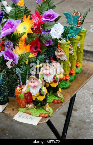 Street Market - Stock Image