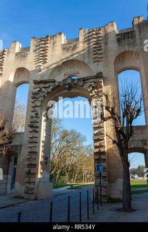 Porte Saint-Denis at Chantilly, Oise, France - Stock Image