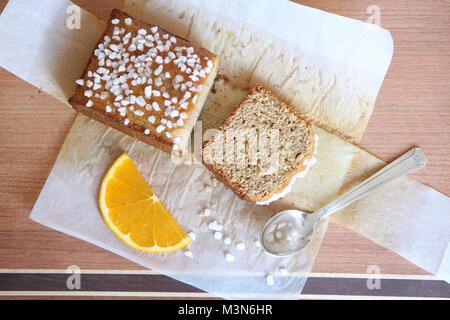 Honey cake - Stock Image