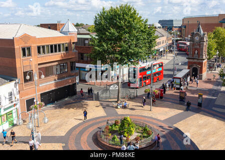 Bexleyheath Clock Tower, The Broadway, Bexleyheath, London Borough of Bexley, Greater London, England, United Kingdom - Stock Image