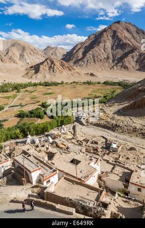 Chemre or Chemrey Village, nr Leh, Ladakh, India - Stock Image