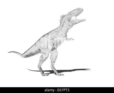 Dinosaurier Nanotyrannus / dinosaur Nanotyrannus - Stock Image