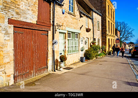Stow on the Wold, Cotswolds, Masters House, Gloucestershire, england - Stock Image