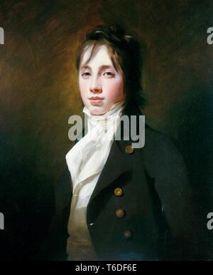 William Fraser of Reelig (1784–1835), portrait painting, Sir Henry Raeburn, 1801 - Stock Image