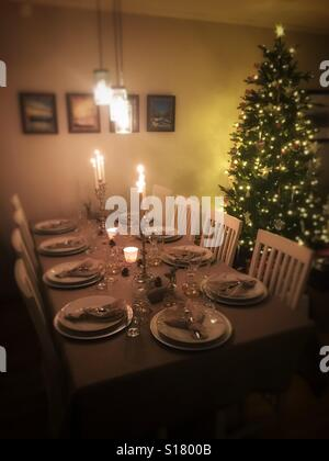 Christmas dinner - Stock Image