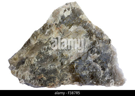 Smoky quartz - Stock Image