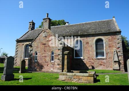 The parish church of Newton on the southern outskirts of Edinburgh, Midlothian - Stock Image