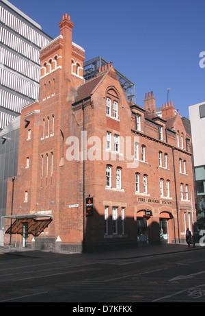 Brigade Bar and Bistro Restaurant Southwark London - Stock Image