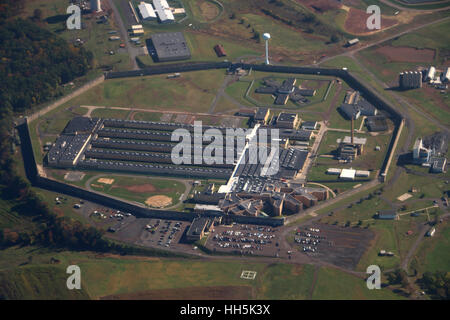 Prison aerial Pennsylvania - Stock Image