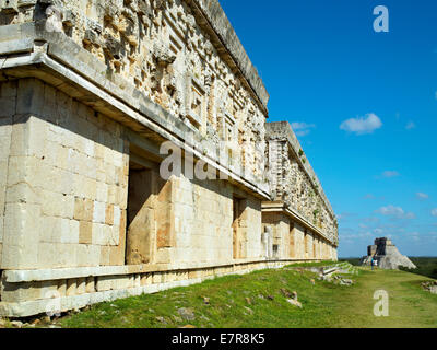 The Governor's Palace at Uxmal - Stock Image