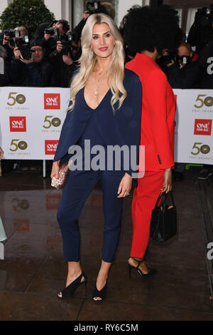 London, UK. 12th Mar, 2019. LONDON, UK. March 12, 2019: Sarah Jayne Dunn arriving for the TRIC Awards 2019 at the Grosvenor House Hotel, London. Picture: Steve Vas/Featureflash Credit: Paul Smith/Alamy Live News - Stock Image