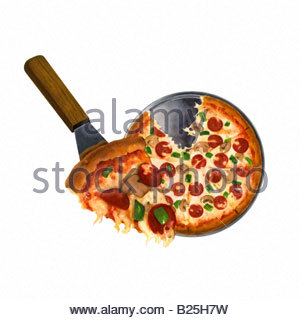 Pizza Pan - Stock Image