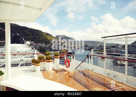 Elegant yacht - Stock Image