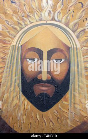 Modern art Jesus Christ - Stock Image