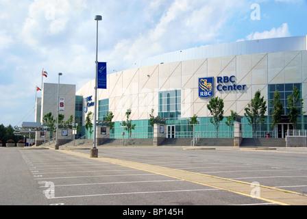 RBC Center in Raleigh, NC, North Carolina. - Stock Image