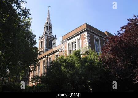 St Mary's Church Islington London - Stock Image