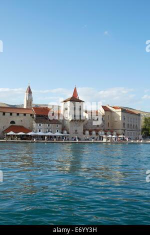 Trogir, Croatia. Old Town. Trogir ia an UNESCO world heratige site. - Stock Image