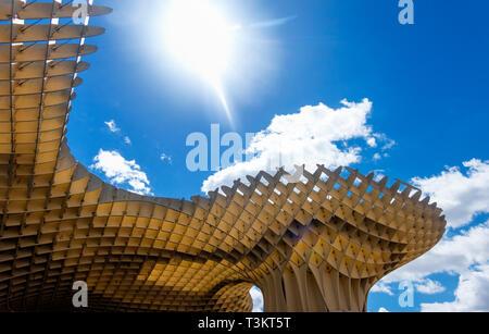 The Metropol Parasol in Seville - Stock Image