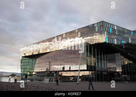 islenska operan, reykjavik, iceland - Stock Image
