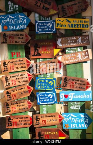 Portugal, Madeira Island, souvenir shop - Stock Image