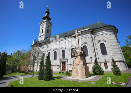 Cathedral Church of the Holy Great-Martyr George (Saborna Crkva) in Novi Sad, Serbia - Stock Image