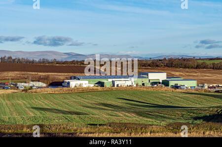 Campbells prime meat factory at Manuel near Linlithgow West Lothian Scotland UK - Stock Image