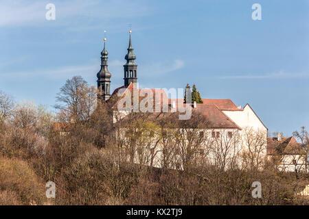 Monastery, Kadan, Czech Republic - Stock Image