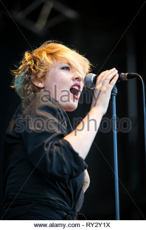 SR KREBS performing live at Musilac summer festival, 10 july 2015 - Stock Image