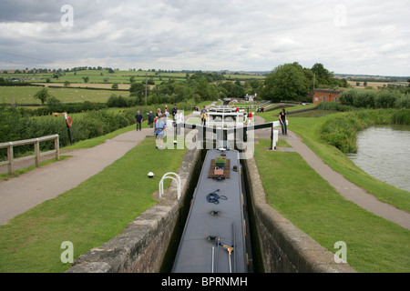 Foxton Locks, Leicestershire, UK. - Stock Image