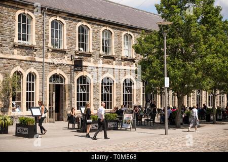 Prezzo restaurant in Anchor Square, Bristol, UK - Stock Image