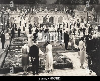 Garden party - Stock Image