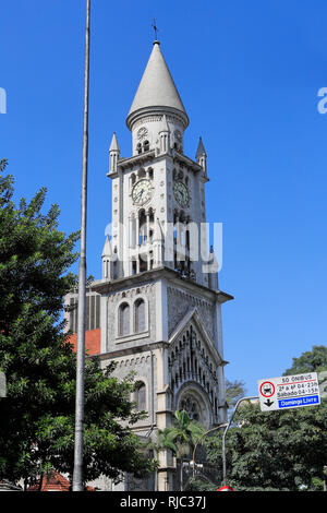 External view of the Our Lady of Consolation Church - Stock Image