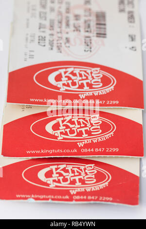 King Tuts Wah Wah Hut, Glasgow, Scotland, UK - tickets - Stock Image