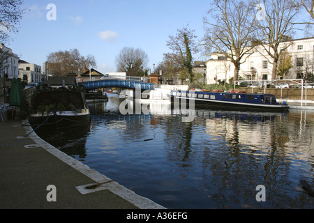 Little Venice London - Stock Image