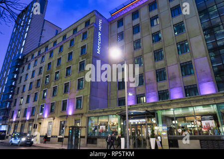 Mercure Hotel, Southwark, London, England, UK - Stock Image