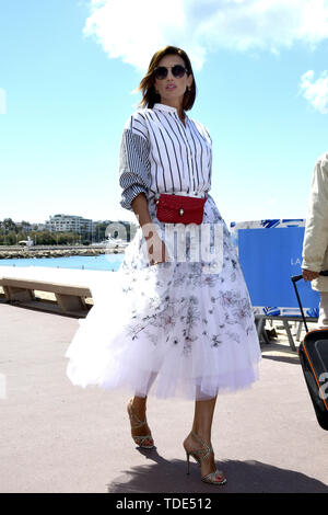 72nd Cannes Film Festival 2019, Celebrity Sightings. Pictured:  Nieves Alvarez  When: 15 May 2019 Credit: IPA/WENN.com  **Only available for publication in UK, USA, Germany, Austria, Switzerland** - Stock Image